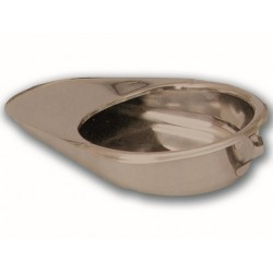 BASSINS DE LIT EN INOX - 418 x 292 x 85 mm