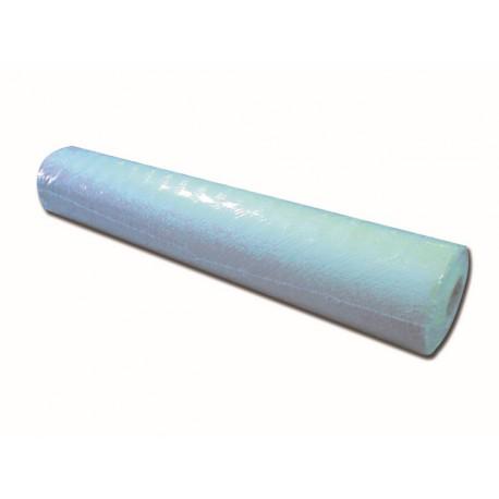 ROULEAUX DE PAPIER DOUBLÉE DE POLYÉTHYLÈNE - 50 cm x 50 m - bleu clair