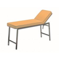 LIT D'EXAMEN CLASSIQUE - chromé - abricot 717