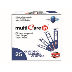"BANDELETTES GLUCOSE (pour MULTICARE ""IN"" codes 23965/66/67)"