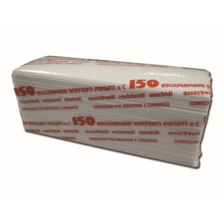 SERVIETTES EN PAPIER C-FOLD - boîte de 150 pcs.
