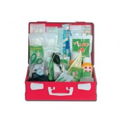 TROUSSE DE PREMIERS SOINS - KIT GRAND - mallette en plastique