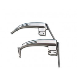 "SET LARYNGOSCOPE ""MAXLITE"" À F.O. FLEXI - SET 2 LAMES MC-INTOSH 3,4"