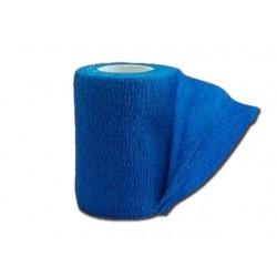BANDE ÉLASTIQUE COHÉSIVE TNT - 4.5 m x 10 cm - bleu