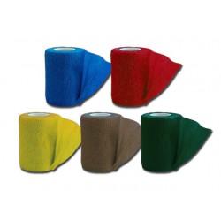BANDE ÉLASTIQUE COHÉSIVE TNT - 4.5 m x 10 cm - 5 couleurs