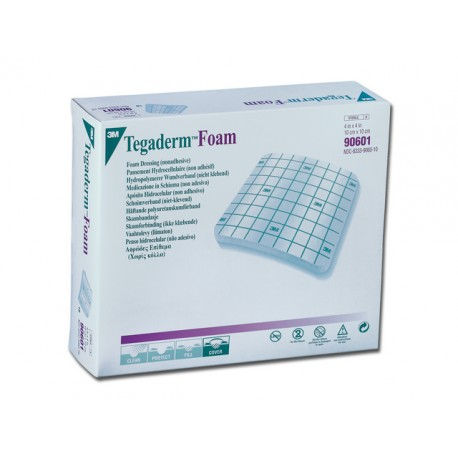 3M TEGADERM™ FOAM – 10 x 10 cm - non adhésif