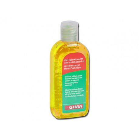 GEL ANTI-BACTÉRIEN POUR LE LAVAGE DES MAINS-SANS EAU - 85 ml - jaune citron