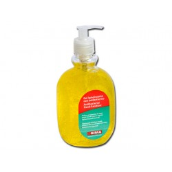 GEL ANTI-BACTÉRIEN POUR LE LAVAGE DES MAINS-SANS EAU - 500 ml - jaune citron