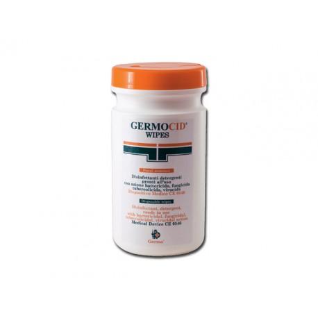 LINGETTES GERMOCID - tube 120 lingettes