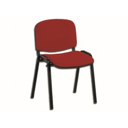 CHAISE ISO - tissu - rouge (TN 050)