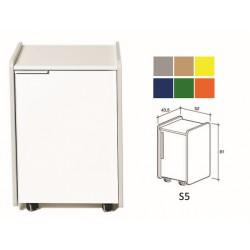 TIROIR S5 - couleur sur demande (gris,beige, jaune, bleu, vert, orange)