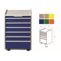 TIROIR S10 - couleur sur demande (gris,beige, jaune, bleu, vert, orange)