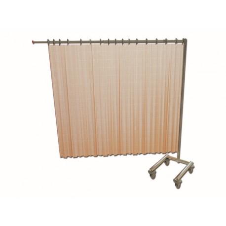 CHARIOT POUR 1 RIDEAU - pliable - sans rideau
