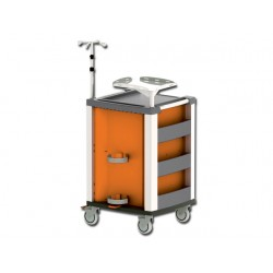 COMPACT KART DE URGENCE - orange