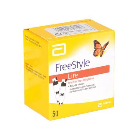 Bandelettes Glucose Abbott Freestyle Lite