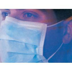 MASKELLA - masque facial avec lanières auricolaires - bleu claire